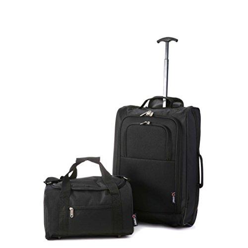 Ryanair Kabinenzugelassenes Handgepäck 55x40x20 & Zweites 35x20x20 Set – Nehmen Sie beide mit!