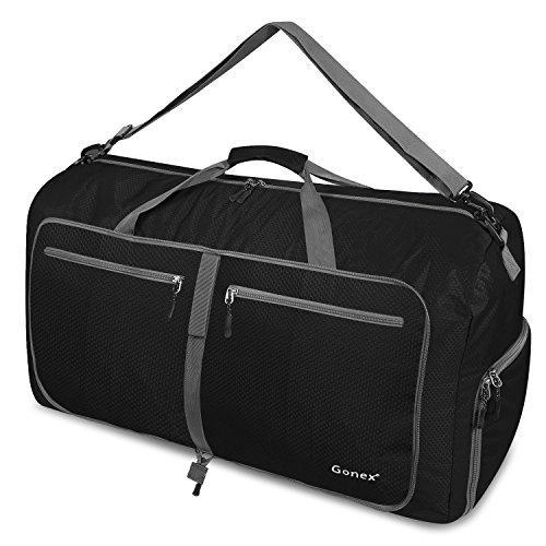 c5cf6656b0330 Gonex Leichter Faltbare Reise-Gepäck 60L   80L   100L Duffel Taschen  Übernachtung Taschen  Sporttasche für Reisen Sport Gym Urlaub