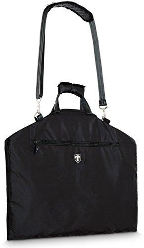 Travando ® Premium Anzugtasche mit 15″ Laptopfach, Schultergurt   Kleidersack Anzug Aufbewahrung Transporttasche Kleidertasche Business Garment Bag Reisen Kleiderhülle Anzughülle Anzugsack Anzugkoffer