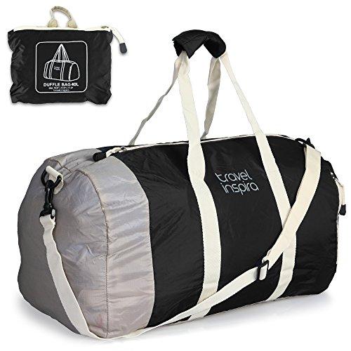 Travel Inspira 40L Faltbare Reise-Gepäck Leichtgewicht Sporttaschen for Sports, Turnhalle, Urlaub.
