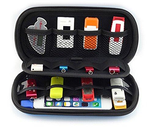geertop tragbar eva travel organizer f r usb flash. Black Bedroom Furniture Sets. Home Design Ideas