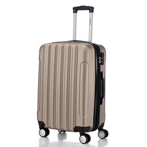 2045 hartschale koffer kofferset trolley reisekoffer gr e. Black Bedroom Furniture Sets. Home Design Ideas