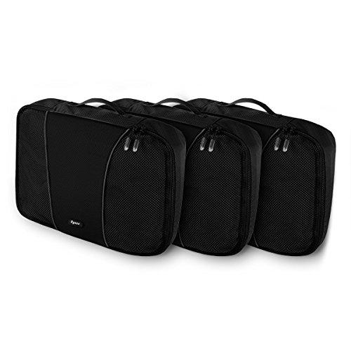 ryaco packtaschen 3 teiliges set verpackungsw rfel koffer organizer aufbewahrungstasche reise. Black Bedroom Furniture Sets. Home Design Ideas