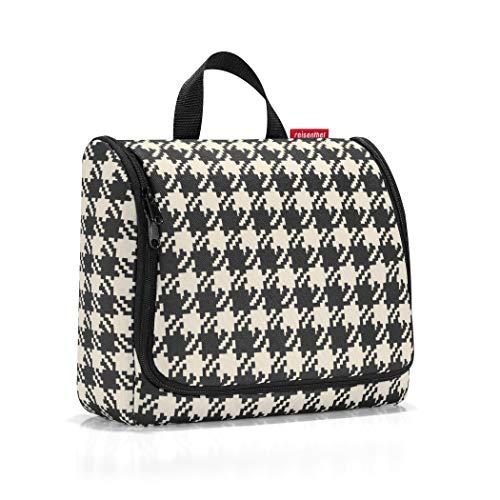 Reisenthel WO7028 Kosmetiktasche toiletbag XL , 28 x 25 x 10 cm, fifties schwarz