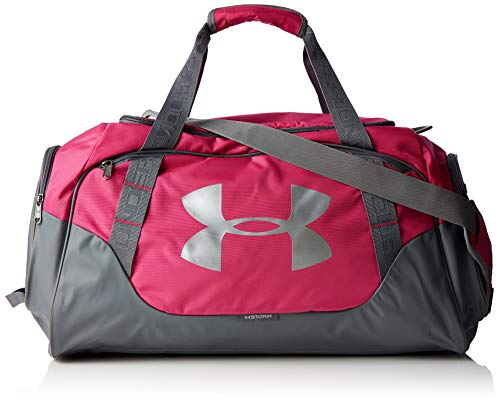 Under Armour Unisex Undeniable Duffle 3.0 Sporttasche, Rosa Tropic Pink, 32 L 50.8 x 26.2 x 23.9 cm