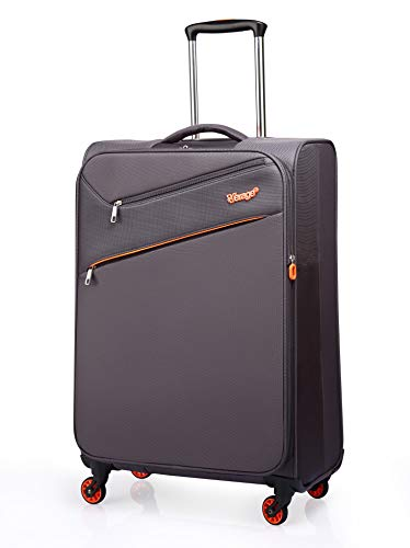 Verage So-Lite Handgepäck Koffer Grau S-47cm18.5″ Trolley Suitcase Reisekoffer Marken-Qualitätsware 55x35x20cm Kabinenkoffer für alle Fluggesellschaften! Super leicht nur 1,55kg!