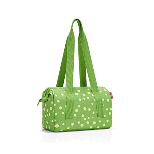 32 x 24,5 x 16 cm spots green – reisenthel allrounder S Reisetasche 8 Liter