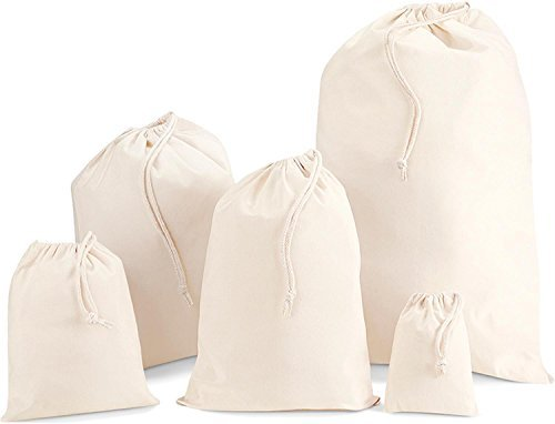 Westford Mill Cotton Stuff Bag, Natural, XL 75x50cm