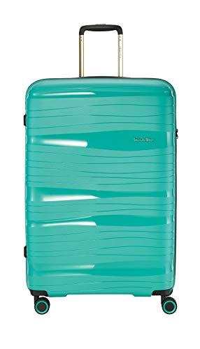 """Travelite Leichter, robuster und beweglicher Rollen-Reisekoffer Trolley """"Motion"""" mit Hartschalen in 4 Farben Koffer, 77 cm, 105 Liter, Minze"""