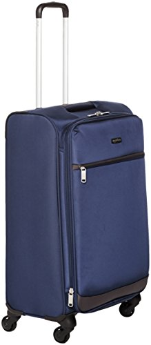 AmazonBasics – Roll-Reisetrolley, 64 cm, Marineblau