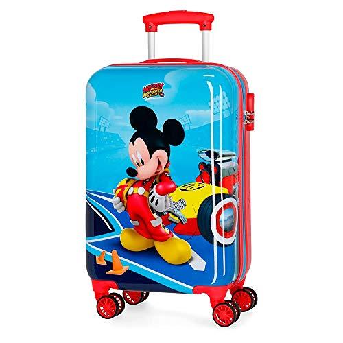 Disney Lets Roll Mickey Kindergepäck 55 centimeters 37.4 Mehrfarbig Multicolor