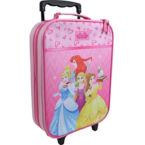 Unbekannt Disney Princess Prinzessin Kinderkoffer Koffer Trolley Kinder Handgepäck Pink