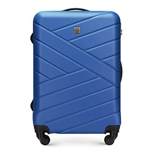 WITTCHEN Groove Line III Koffer, 65 cm, Navy Blau