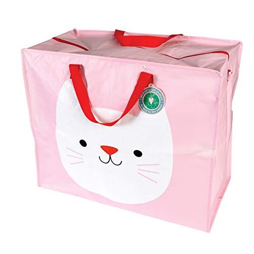 Katze – Rex London – Cookie The Cat – Riesentasche, Aufbewahrungstasche, XXL Tasche mit Reißverschluss