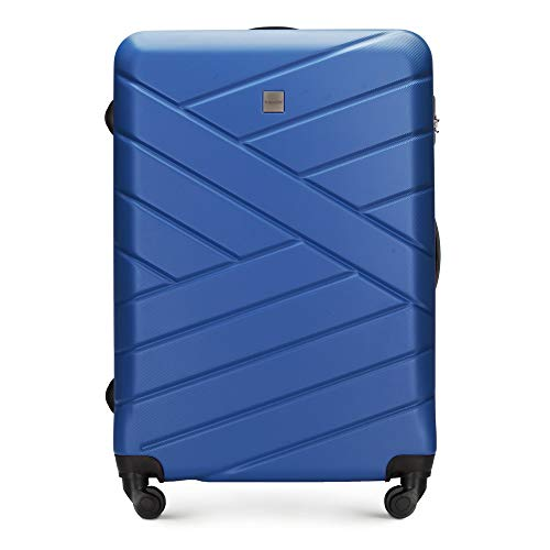 WITTCHEN Groove Line III Koffer, 74 cm, Navy Blau