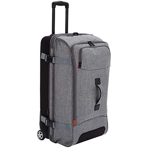Reisetasche mit Rollen, Groß, Grau – AmazonBasics