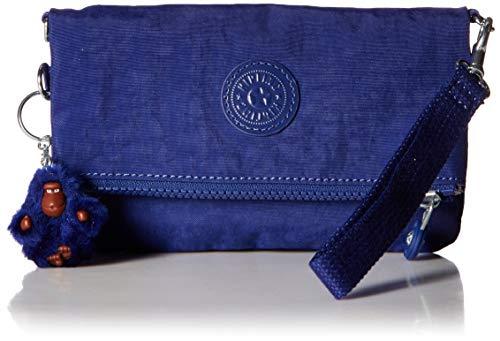 Kipling Damen Convertible Crossbody Bag Lynne, wandelbare Umhängetasche, Cobalt Dream, Einheitsgröße