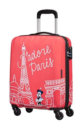 American Tourister Disney Legends – Spinner Small – Alfatwist 2.0 Koffer, 55 cm, 36.0 Liter, Minnie Paris
