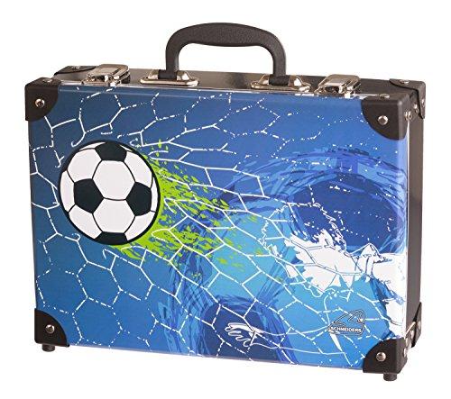 Schneiders Vienna Koffer Soccer Champ Kindergepäck, 33 cm, 8.3 L, Blau