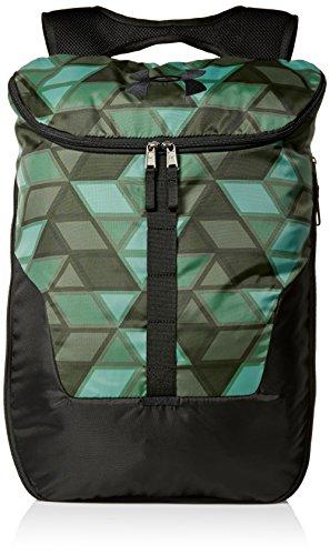 Under Armour Unisex Rucksack Under Expandable Sackpack Backpack, Unisex-Erwachsene, Aegean Green 707/Black, Einheitsgröße