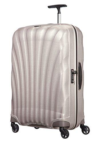 Samsonite Cosmolite Spinner Suitcase, 75 cm, 94 L, AltWeiß Pearl
