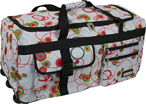 normani Reisetasche Jumbo Big-Travel 3 Rollen riesige 80 Liter XXL V4 5. Generation Circle
