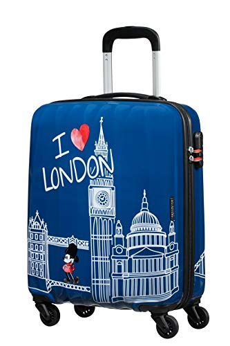 Spinner Small – Alfatwist 2.0 Koffer, 55 cm, 36.0 Liter, Mickey London – American Tourister Disney Legends