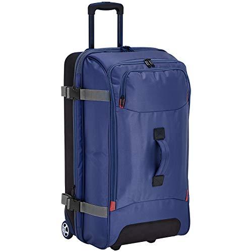 AmazonBasics – Reisetasche mit Rollen, Groß, Blau