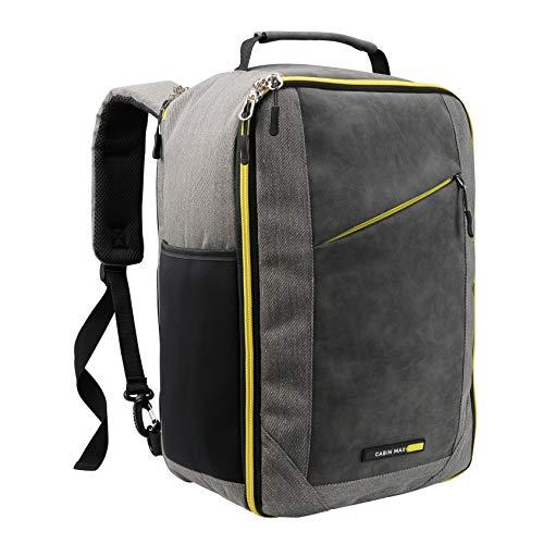 Cabin Max Manhatten Stowaway XL – Ryanair Premium Handgepäck 20 Liter Schultertasche 40 x 20 x 25 cm abschließbarer Rucksack mit Organisationsfach und nützlichem Tablet Fach