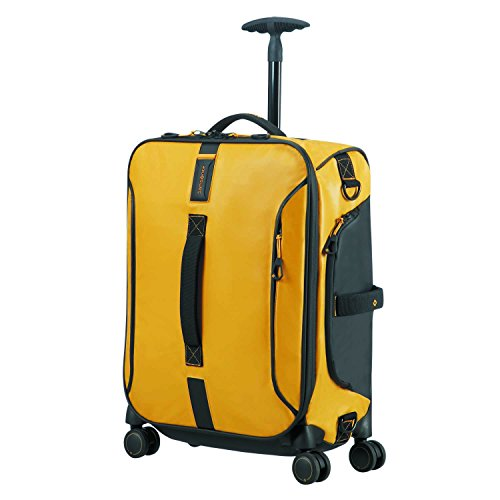 SAMSONITE Paradiver Light – Spinner Duffle Bag 55/20 Reisetasche, 55 cm, 50 L, Yellow