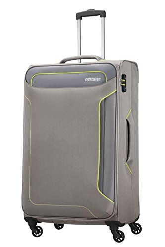 American Tourister Holiday Heat Spinner 79.5 cm, 3.8 KG, 108 L, Metal Grey