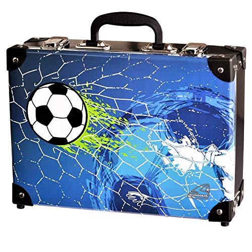Spielzeugkoffer Spielkoffer Kofferl Kinderkoffer Kindergepäck – Fußball – 49306-070 Schneiders Vienna – Soccer Champ