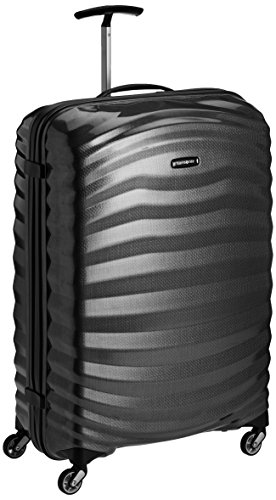 Spinner XL Koffer, 81 cm, 124 L, schwarz Black – Samsonite Lite-Shock
