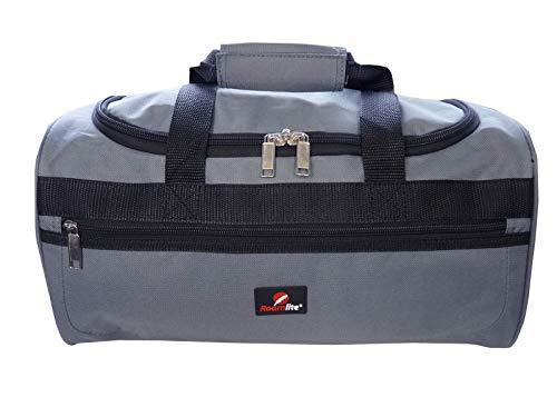 Exakte Größe 40 cm x25 x20 – Handgepäcktasche für Ryan Air RL59GY Grau – Roamlite Kleine Reisetasche Ryanair Zweites Handgepäck Tasche – Kabinentasche Bordgepäck – Ultra Leichte 0,4 Kg