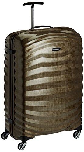 Samsonite Lite-Shock – Spinner L Koffer, 75 cm, 98.5 L, braun sand