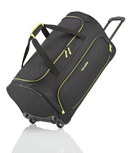 Travelite Basics Trolley Reisetasche FRESH auf Rollen 70cm, in sechs Farben Reise-Henkeltasche, 71 cm, 89 Liter, Schwarz