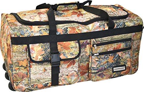 normani Reisetasche Jumbo Big-Travel mit Rollen riesige XXL Farbe Autumn