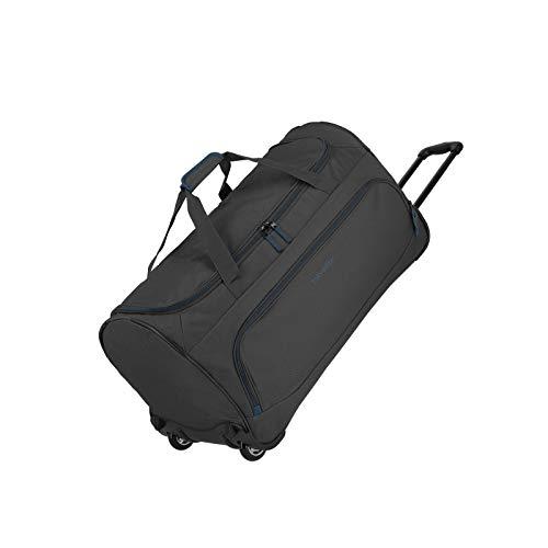 Travelite Basics Trolley Reisetasche FRESH auf Rollen 70cm, in sechs Farben Reise-Henkeltasche, 71 cm, 89 Liter, Anthrazit