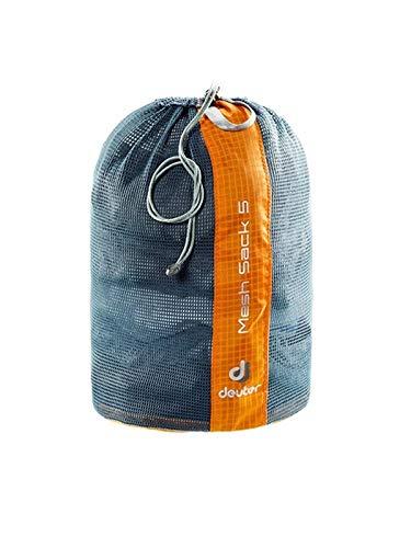 Deuter Mesh Sack 5 Packsack, Mandarine, 22 cm, 5 L