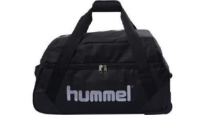 hummel Unisex– Erwachsene Authentic Sporttasche, Black, M