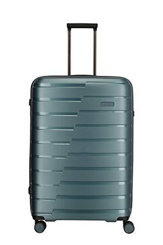 """Travelite Hartschalen-Koffer-Serie """"AIR BASE"""" von travelite in 2 Farben: unverwüstlich, funktional, cool Koffer, 77 cm, 105 L, Eisblau"""