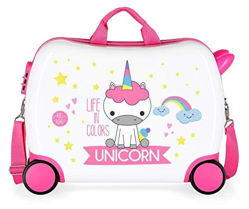 Roll Road Little Me Kindergepäck 50 centimeters 34 Mehrfarbig Multicolor