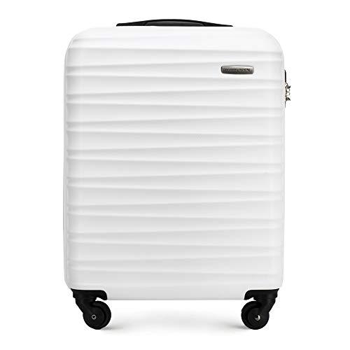WITTCHEN GROOVE Line Koffer, 54 cm, Weiß