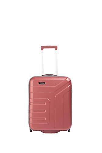 """Travelite Koffer-Serie """"VECTOR"""" von travelite: Robuste Hartschalen-Trolleys und Beautycases in 4 Trendfarben Kosmetikkoffer, 55 cm, 44 liters, Rot Koralle"""