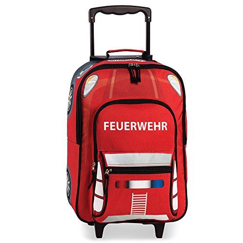 FEUERWEHR – Kindertrolley Kinderkoffer Kindergepäck Trolley Koffer – 20517-0200