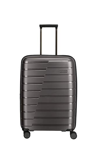 "Travelite Hartschalen-Koffer-Serie ""AIR BASE"" von travelite in 2 Farben: unverwüstlich, funktional, cool Koffer, 67 cm, 71 L, Anthrazit"