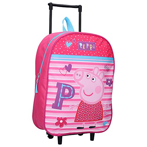 Peppa Wutz Trolley Kinderkoffer – Rosa – Be Happy