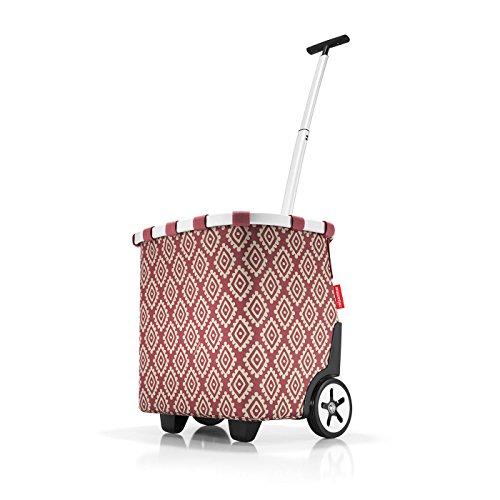 reisenthel carrycruiser diamonds rouge 42 x 8 x 33,5 cm