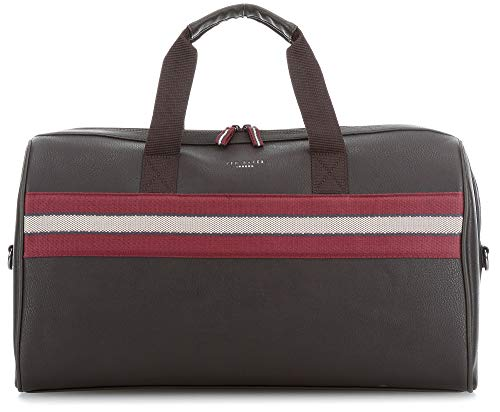 Ted Baker Men's Ceviche Duffel, Chocolate, Brown, Stripe, One Size