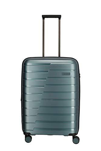 """Travelite Hartschalen-Koffer-Serie """"AIR BASE"""" von travelite in 2 Farben: unverwüstlich, funktional, cool Koffer, 67 cm, 71 L, Eisblau"""